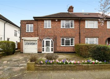 Thumbnail 4 bedroom semi-detached house for sale in Boundary Road, Pinner, Middlesex