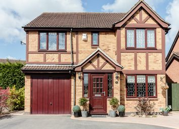 Thumbnail 4 bed detached house for sale in Birchwood Close, Leicester, Leicestershire