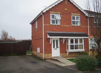 Thumbnail 3 bed semi-detached house to rent in Dewchurch Drive, Sunnyhill, Derby