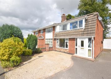Thumbnail 3 bed property for sale in Vicarage Close, Newbold Coleorton, Coalville