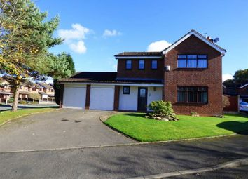 Thumbnail 4 bed detached house for sale in Sunbury Close, Stoke-On-Trent