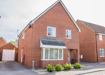 Thumbnail 4 bed detached house for sale in Blyth's Wood Avenue, Costessey, Norwich