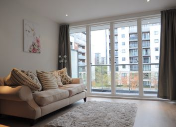 Thumbnail 1 bedroom flat to rent in Pump House Crescent, Brentford, Middlesex