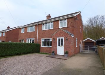 Thumbnail 3 bed semi-detached house for sale in Casswell Crescent, Fulstow, Louth