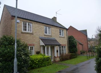 Thumbnail 4 bed detached house to rent in Honeymead Road, Wimblington, March