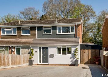 Thumbnail 4 bed semi-detached house for sale in Grasmere Road, Kennington, Ashford