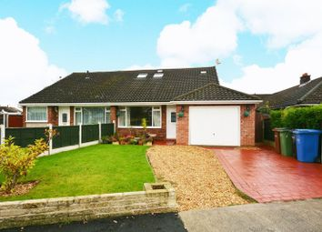 Thumbnail 4 bed semi-detached bungalow for sale in Oakdale Drive, Heald Green, Cheadle