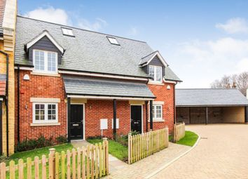 Thumbnail 2 bedroom terraced house for sale in St. Leonards Close, Stagsden, Bedford