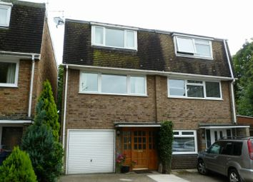 Thumbnail 3 bed semi-detached house for sale in Riverside, Cores End Road, Bourne End