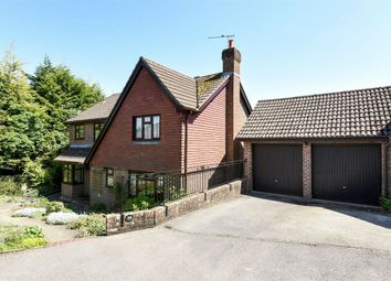 Thumbnail 4 bed detached house for sale in Ashbarn Crescent, Winchester