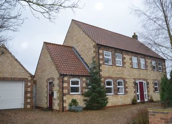 Thumbnail 5 bed detached house for sale in Middle Street, Willoughton, Gainsborough