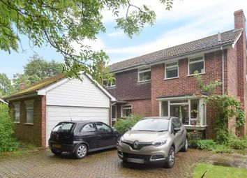 Thumbnail 4 bed detached house to rent in Station Road, Woolhampton