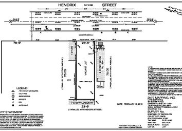 Thumbnail Land for sale in 382 Hendrix St, Brooklyn, Ny 11207, Usa