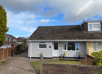 Thumbnail 3 bed semi-detached bungalow for sale in Haven Crescent, Werrington, Stoke-On-Trent, Staffordshire