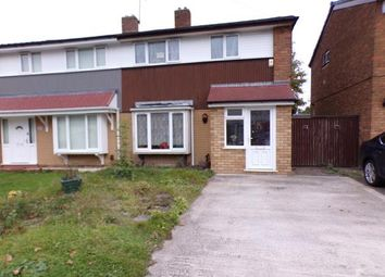 Thumbnail 3 bed semi-detached house for sale in Yew Tree Road, Delves, Walsall