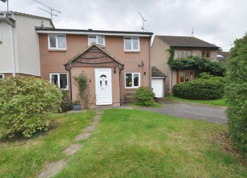 Thumbnail 3 bed end terrace house for sale in Flamingo Close, Wokingham