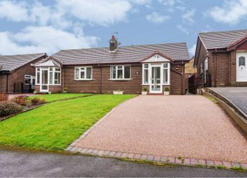 Thumbnail 2 bed semi-detached bungalow for sale in Croft Manor, Glossop