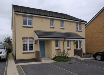 Thumbnail 3 bed semi-detached house for sale in Castleton Grove, Haverfordwest