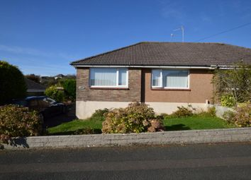 Thumbnail 2 bed semi-detached bungalow for sale in Staddon Park Road, Plymouth, Devon