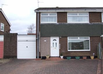 Thumbnail 3 bed semi-detached house for sale in Rowan Drive, Ponteland, Northumberland
