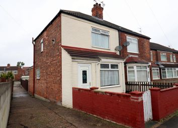 Thumbnail 2 bed end terrace house for sale in Alston Avenue, Hull, Yorkshire