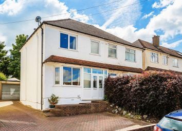Thumbnail 3 bed semi-detached house for sale in Campbell Road, Caterham, Surrey