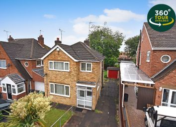 3 bed detached house for sale in Bollington Road, Oadby, Leicester LE2