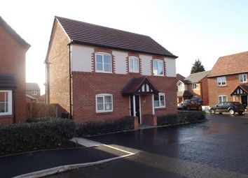 Thumbnail 3 bed detached house for sale in Copper Beech Road, Shavington, Crewe, Cheshire
