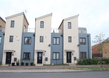 Thumbnail 2 bed terraced house for sale in Selkirk Drive, Oakridge Park, Milton Keynes