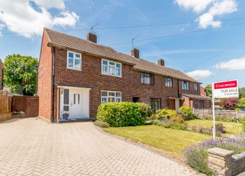 Thumbnail 3 bed semi-detached house for sale in Franklands Drive, Addlestone