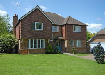 Thumbnail 5 bed detached house for sale in Willow Fields, Ash Green, Guildford, Surrey