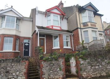 Thumbnail 2 bed terraced house for sale in St. Michaels Road, Paignton