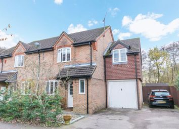 Thumbnail 4 bed semi-detached house for sale in Parnell Close, Maidenbower, Crawley, West Sussex
