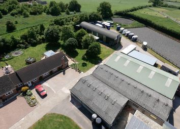 Thumbnail 5 bed equestrian property for sale in Potters Kiln Farm, Potters Marston, Leicestershire
