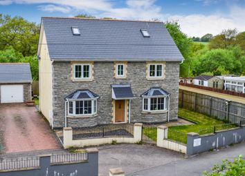 Thumbnail 5 bed detached house for sale in The Paddocks, Trelewis, Treharris