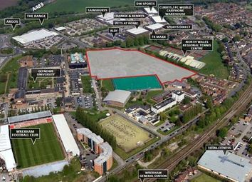 Thumbnail Land for sale in Northern Quarter, Plas Coch, Glyndwr University, Wrexham