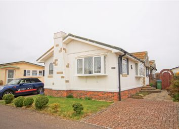 Thumbnail 3 bed mobile/park home for sale in Oaktree Close, Mill Farm, Nyetimber