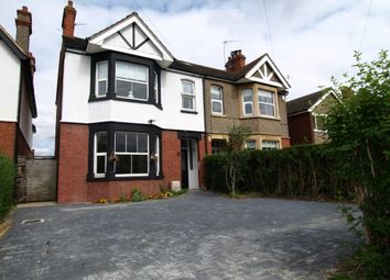 Thumbnail 3 bedroom semi-detached house for sale in Hill View, Newport Pagnell, Buckinghamshire