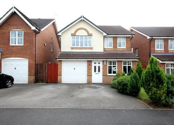 Thumbnail 4 bed detached house for sale in Dartington Road, Platt Bridge, Wigan, Lancashire