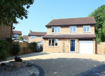 Thumbnail 4 bed detached house for sale in The Willows, Highworth