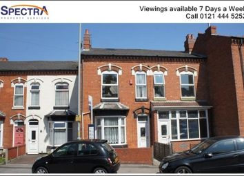 Thumbnail 3 bedroom terraced house to rent in Springfield Road, Moseley, Birmingham