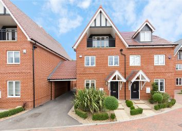 Thumbnail 4 bed semi-detached house for sale in Bansons Mews, High Street, Ongar, Essex