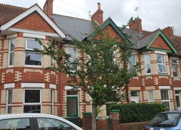 Thumbnail 3 bed terraced house to rent in Waverley Road, Exmouth
