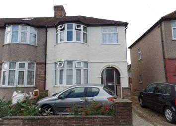 Thumbnail 3 bedroom semi-detached house to rent in St. Anselms Road, Hayes, Middlesex