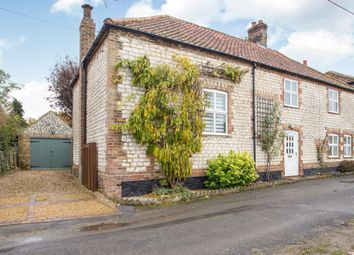 Thumbnail 3 bed semi-detached house for sale in Hall Lane, Northwold, Thetford