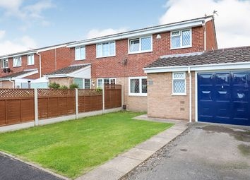 Thumbnail 3 bed semi-detached house for sale in Hamble Grove, Perton, Wolverhampton, Staffordshire