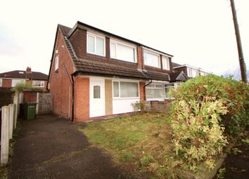 Thumbnail 3 bedroom semi-detached house to rent in Olwen Crescent, Stockport