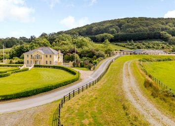 Thumbnail 5 bed equestrian property for sale in Bronwydd Arms, Nr Carmarthen, Carmarthenshire