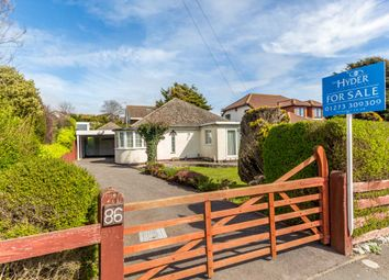Thumbnail 2 bed detached bungalow for sale in Greenways, Ovingdean, Brighton