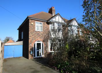 Thumbnail 3 bedroom semi-detached house for sale in Longdales Road, Lincoln